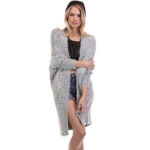 Tea & Cup Lux Long Cardigan Sweater